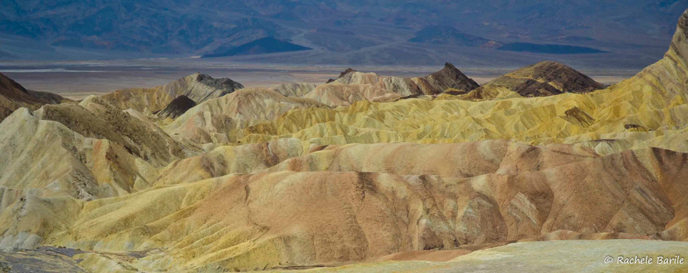 Strati e colori : Zabriskie Point